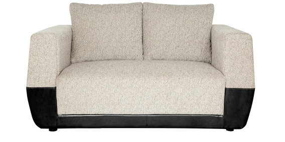 Parisian Panache Two Seater Sofa In Black U0026 Grey Colour By Urban Living