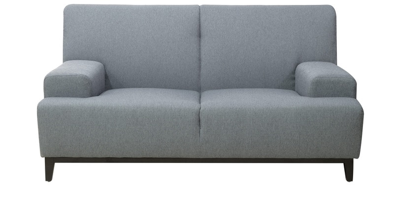 Palmira Two Seater Sofa in Stone Grey Colour by CasaCraft