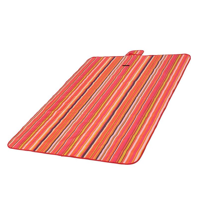 PackNBUY Waterproof Foldable Fabric Red Picnic & Beach Mat