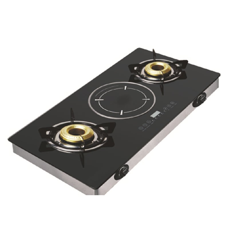 Buy Padmini Hybrid Gas Stove With Induction Cooktop Online