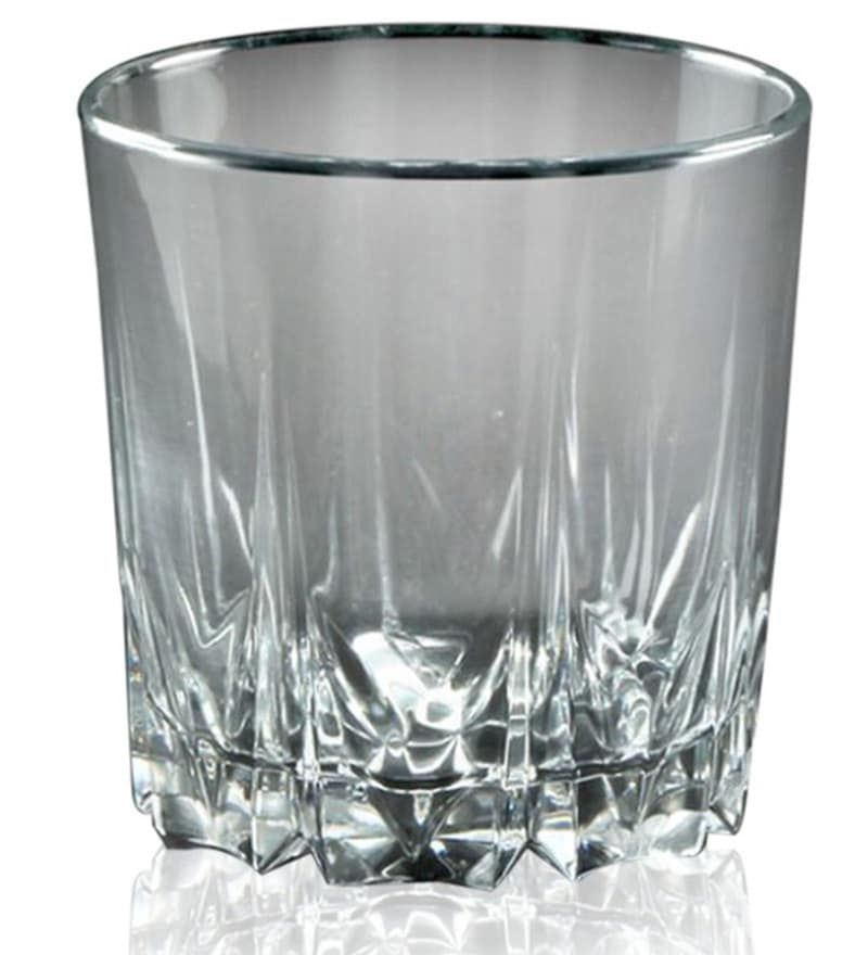 Pasabahce Karat 300 ML Whisky Tumbler Glasses - Set of 6
