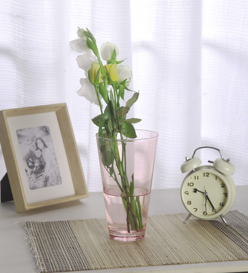 Transparent Glass Workshop Enjoy Vase by Pasabahce