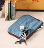 Packnbuy Fabric Blue Gadget Pouch Organiser
