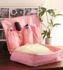 Packnbuy Nylon Pink Large Toiletry Purse Organiser