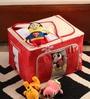 Packnbuy Nylon Red Large Foldable Storage Box