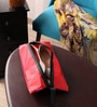 Packnbuy Fabric Red Travel Shoe Pouch