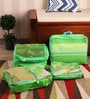 Packnbuy Nylon Green 5-piece Bags in Bag Travelling Bag Set