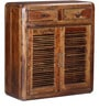 Winlock Shoe Rack in Provincial Teak Finish by Woodsworth