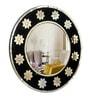 Multicolour Plywood & Glass Decorative Mirror by Panash Art