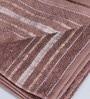 Pannaa Brown Cotton 16 x 24 Inch Hand Towel