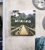 Pannaa Canvas 10 x 1 x 10 Inch Hiking Framed Poster