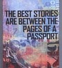 Pannaa Canvas 8 x 1 x 24 Inch Stories in The Passport Framed Poster