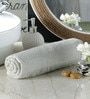 Pannaa Cream Cotton 16 x 24 Hand Towel