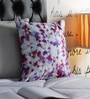 Pannaa Multicolour Velvet 16 x 16 Inch Abstract Design Cushion Cover