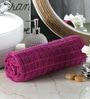 Pannaa Pink Cotton 28 x 59 Inch Bath Towel