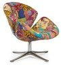 Patchwork Modern Leisure Chair in Multi Colour by HomeHQ