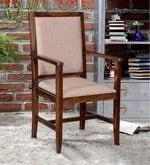 Peshtigo Arm Chair in Provincial Teak Finish