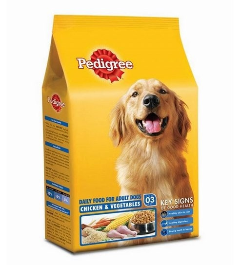 Buy Pedigree Adult Chicken Veg Food 15 Kg Dog Food Online Food