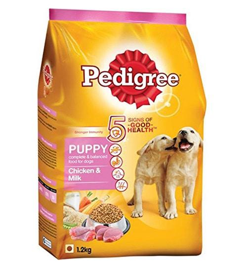Buy Pedigree Puppy Chicken Milk 12 Kg Dog Food Online Food