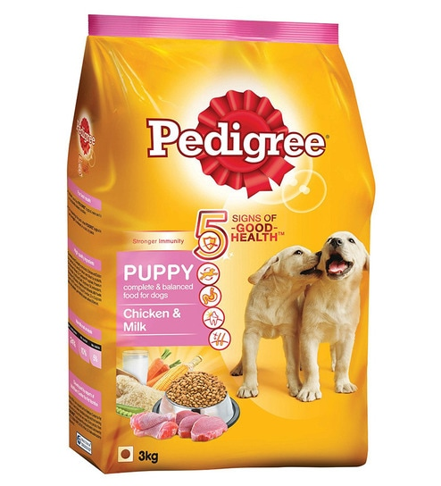 Buy Pedigree Puppy Chicken Milk 3 Kg Dog Food Online Food Dog