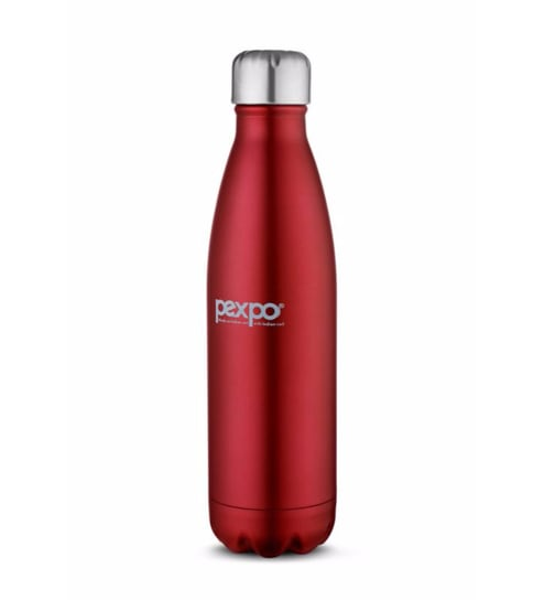 Pexpo Ideale Electro Cola Stainless Steel 1000 ML Vacuum Insulated Bottle With Jute Bag - 1658279