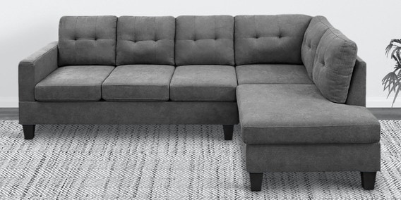 Pero Lhs 6 Seater Sectional Sofa In, Sectionals And Sofas