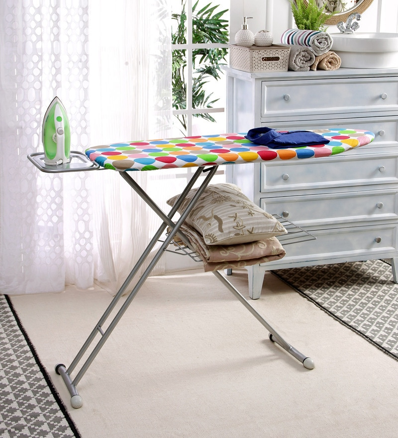 ironing board furniture. buy peng essentials euro steel multicolour ironing board online boards pepperfry furniture