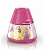 71769_28 Princess Projector & Night Lamp
