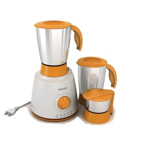 Philips HL7620 3 Jars Daily Collection Mixer Grinder (White)