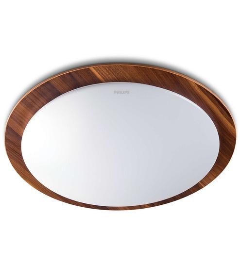 Buy Philips 31111 Wooden Frame Ceiling Light