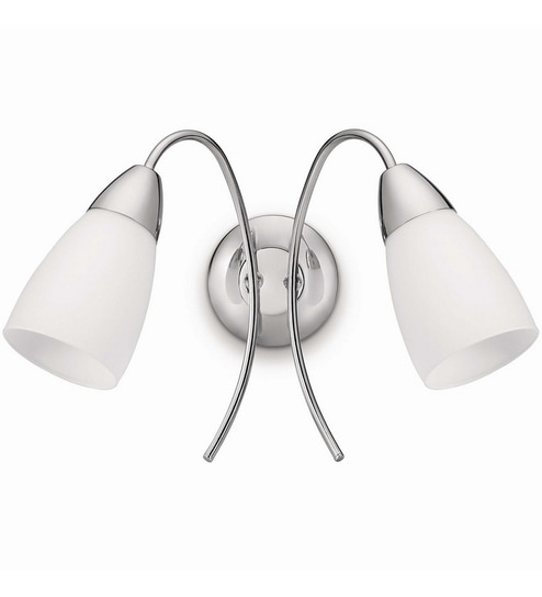 Double Shade Downlighter Wall Spot Light by Philips
