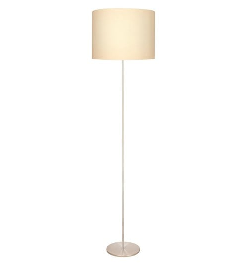 Buy white fabric 3838 floor lamp by philips online contemporary white fabric 3838 floor lamp by philips aloadofball Image collections
