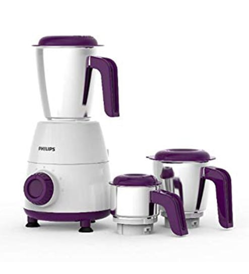 e581a2a8ab Buy Philips 3 Jars 500W White Mixer Grinder (Model No: HL7505/00 ...
