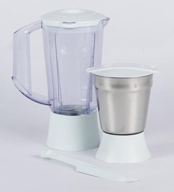 Philips 2 Jars 500W White Juicer Mixer Grinder (Model No: HL1631 00)