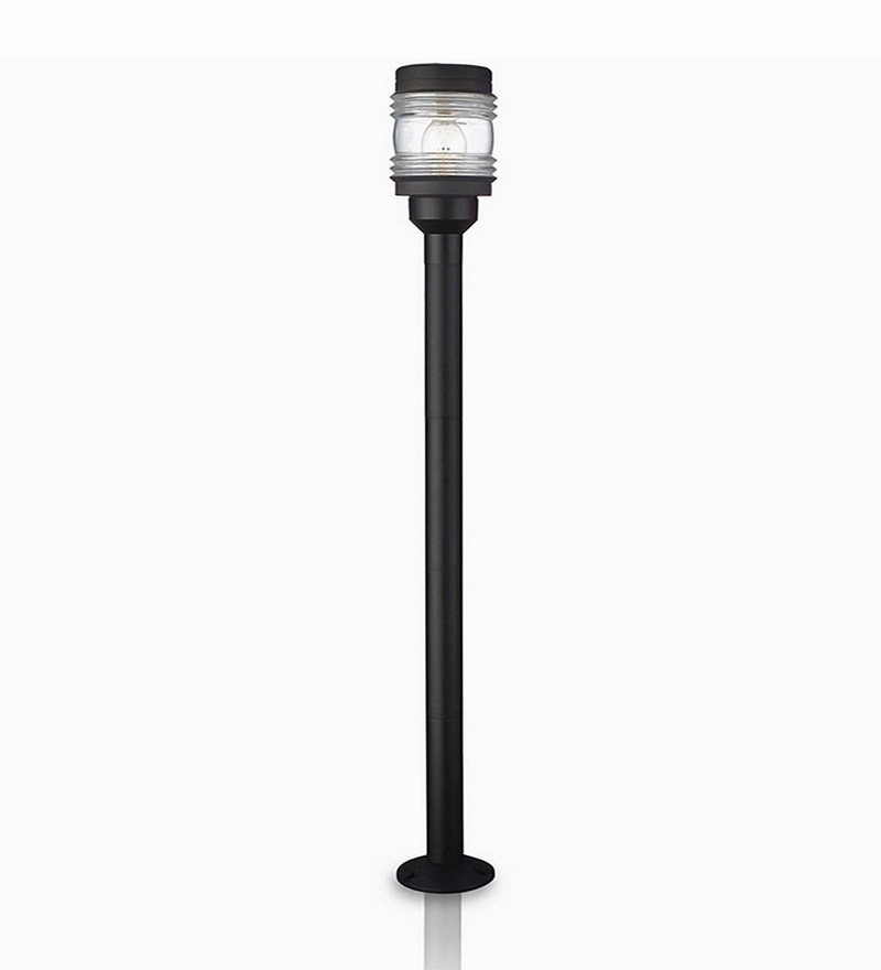 1626_3 Black Round Pedestal Lamp by Philips