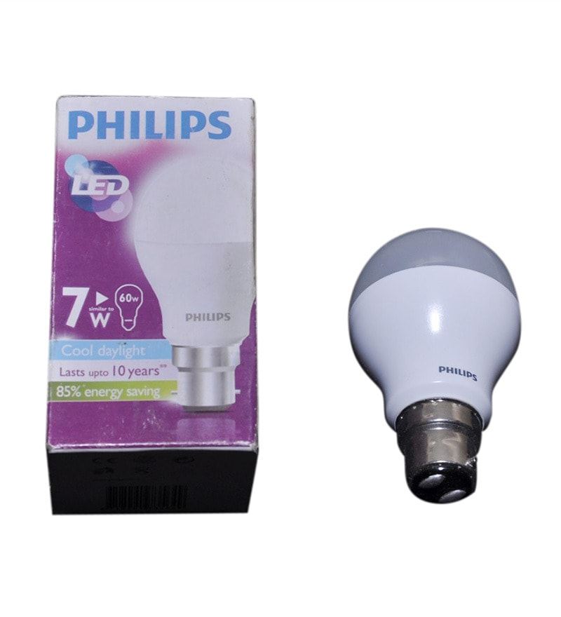 Philips 7watt Ace Saver 600 Lumens Cool White 6500k Led