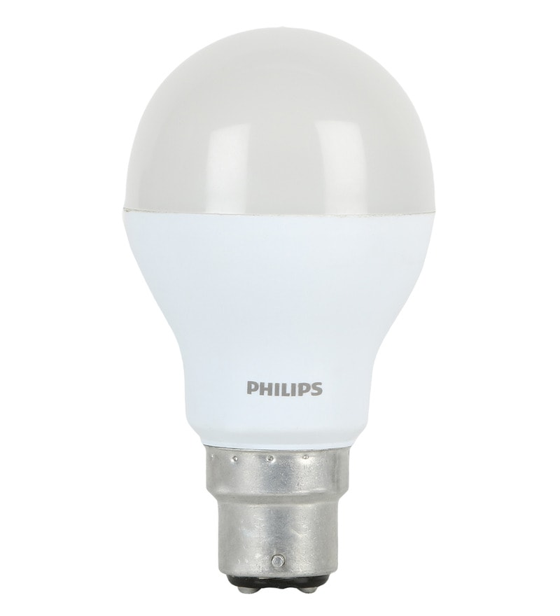 Philips White and Yellow 8.5W LED Bulb