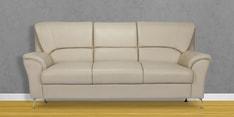 Piper Three Seater Sofa in Beige Colour