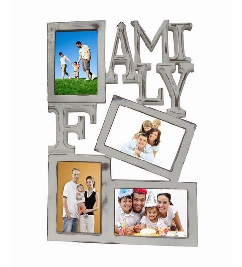 Buy PIndia Fancy Design Home Wall Hanging Decor Family 4 Picture ...