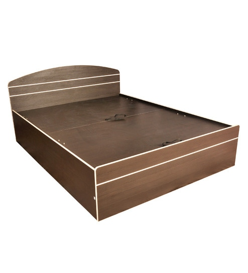 Pine Crest Royal Queen Size Lift Up Storage Bed By Pine Crest Online