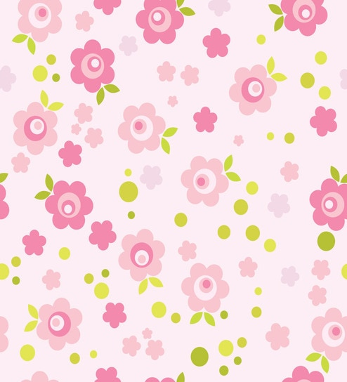 Print a wall paper baby pink flowers pvc free wallpaper by print a print a wall paper baby pink flowers pvc free wallpaper mightylinksfo