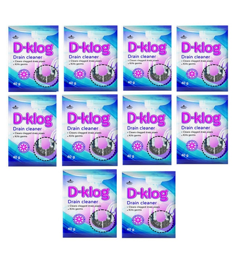 Buy Pidilite Dklog Drain Cleaner Set Of 10 Online Car Cleaning Car Cleaning Hardware Electricals Pepperfry Product