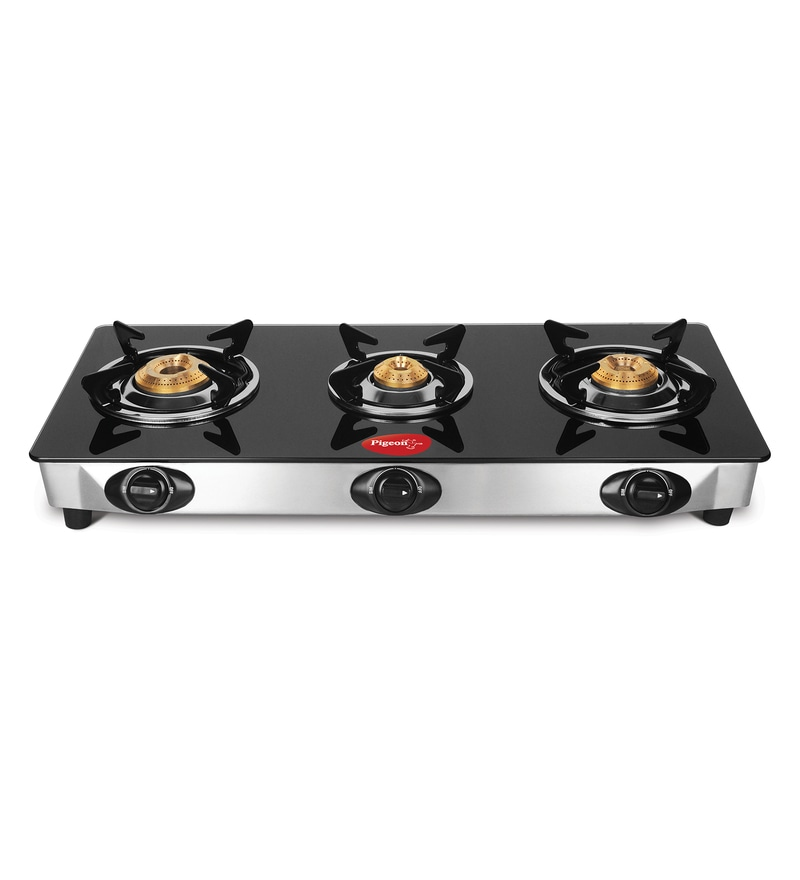 Pigeon Favorite 3-Burner Glass Cooktop