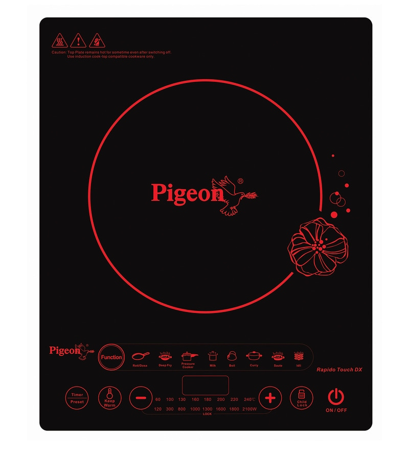 Pigeon Rapido Touch Dx 2100 W Induction Cooktop