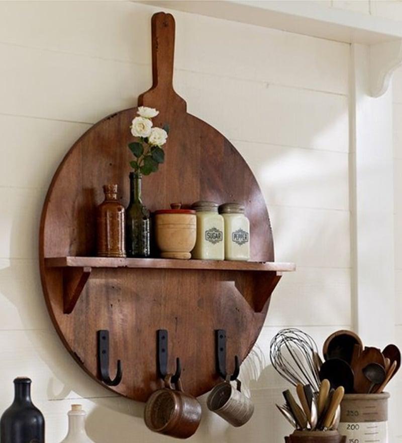 Buy Kitchen Furniture Online: Buy Pizza Board Kitchen Shelf Online