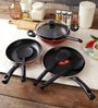 Aluminium Non-Stick Cookware Set - Set of 7 by Pigeon