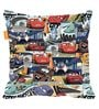 Pixar Cars XXL Kids Bean Bag with Beans in Multicolour by Orka(With Small - cushion Inside)