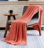Crochet Cotton Single Throw