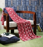 Lady Love Cotton Single Throw Blanket