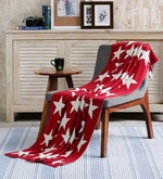 Starry Cotton Single Throw Blanket